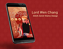 Lord Wen Chang|ASUS ZenUI theme Design