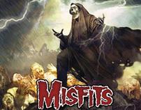 "Misfits - ""The Devil's Rain"" CD/LP packaging"