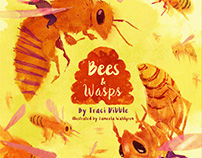 Bees & Wasps Children's Book