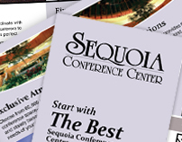 4 Color, Fold Brochure - Sequoia Conference Center