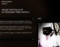 Website design - Tmeedesign official website  2006