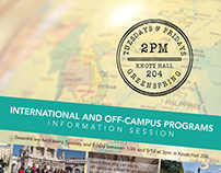 Study Abroad Posters