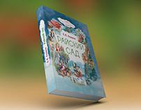 Обложка для книги сказок