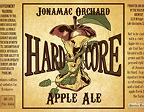 Jonamac Orchard cider and wine labels