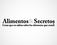 Alimentos y Secretos.com Branding and Web Design
