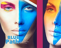 Blue Path for IMIRAGEmagazine | ISSUE Neoplasticismo 2