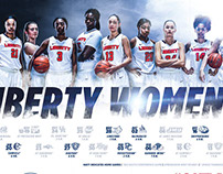 2017-18 Liberty Women's Basketball Campaign