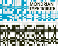 Mondrian Typographical Tribute 'BETA'