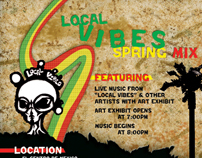 Event Poster - Local Vibes Spring Mix