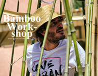 """BAMBOO WORKSHOP CAVE URBAN """"Cocoon"""" Bamboo Structure"""