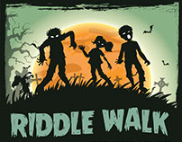 Haunted Halloween Riddle Walk