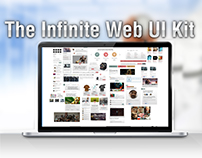Free The infinite Web UI Kit