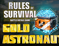 YouTube Thumbnail Rules of Survival Battle Royale Game