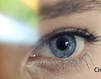 CG ANIMATION human eye and retina section