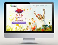 Website Parque Desenvolvimento
