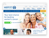 Moffitt Cancer Center Site Redesign