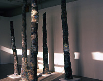 Human Ash trees