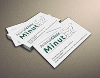Animal Clinic Minut | Logo Design