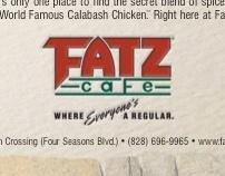 Fatz Cafe print campaign