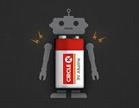 Robot batteries