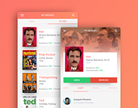 Reelist - App Concept
