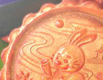 Food Lookdev: Moon Cake