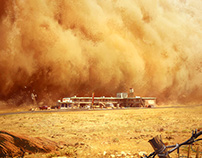 Dark Days : the sandstorm