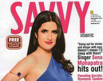 Savvy Magazine November 2011 Sona Mohapatra