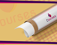 Courses Logo & Brand identity