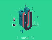 Upstox \\ Brand Illustrations