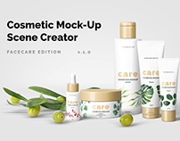 Cosmetic Mock-Up Scene Creator / 3D Visualization