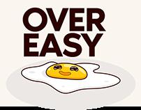 Over Easy Egg Mascot Illustration