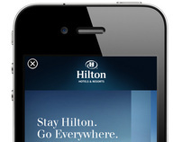 Stay Hilton. Go Everywhere.