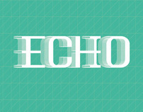 Echo Typeface