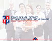 Thiết kế Thương hiệu Viện đào tạo Quốc tế NIIE