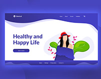 Happy Life UI Design