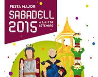 Propuesta de cartel Fiesta Mayor de Sabadell 2015