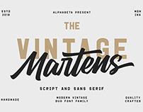 Martens Script | Duo Font