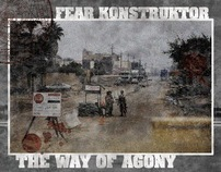 """The way of agony"" cover design"