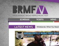 Broad Ripple Music Festive - Website