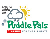 Puddle Pals childrens clothing logo / images