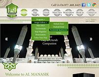 Al Manasik Website Design & Development