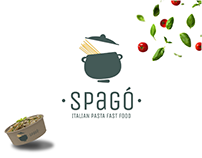"Logo Design&Branding | ""SPAGò""_ THE FIRST FLOST FOOD"
