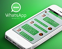 Whatsapp - Yet Another Re-Design!