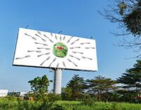Foxy Vegetables Billboard