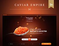 Caviar Empire - Landing Page