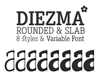 Diezma Rounded & Slab