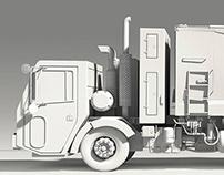 "Neste 3D/CGI ""Transparent Trucks"""