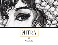 MITRA - Wine Label