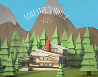 Free 3D Model: Forester's House